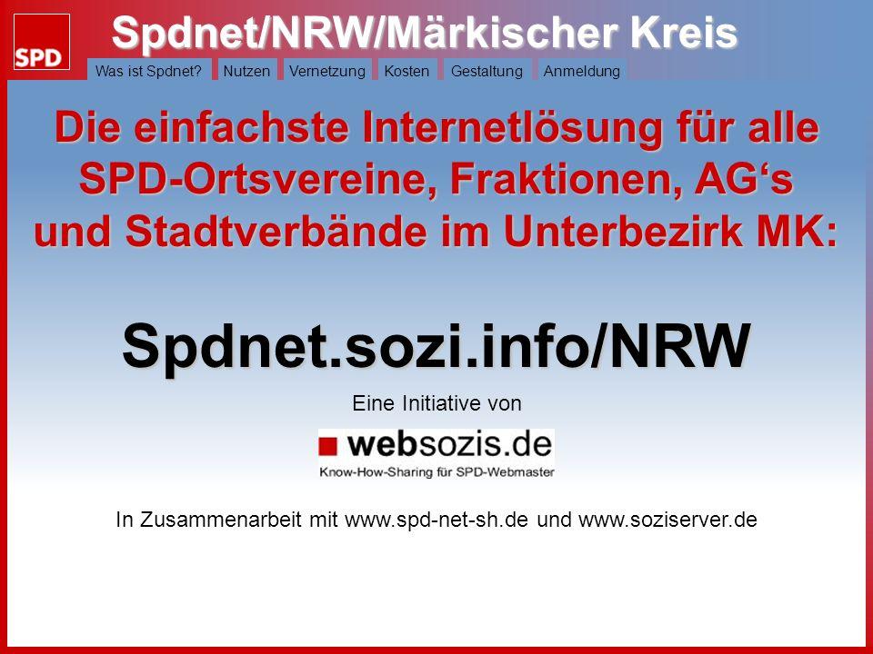 In Zusammenarbeit mit www.spd-net-sh.de und www.soziserver.de