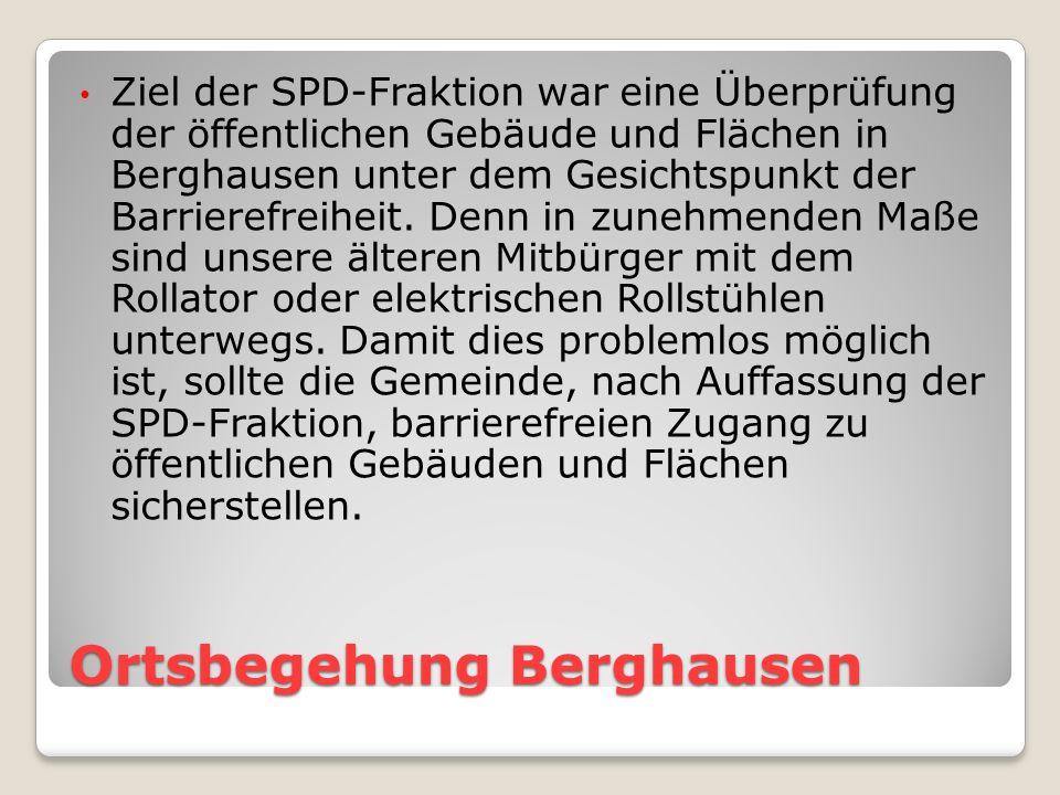 Ortsbegehung Berghausen