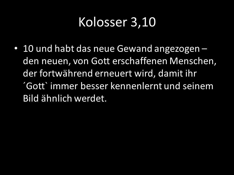 Kolosser 3,10