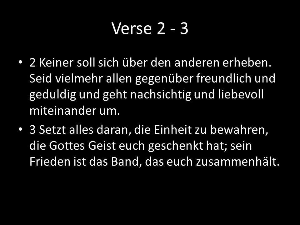 Verse 2 - 3
