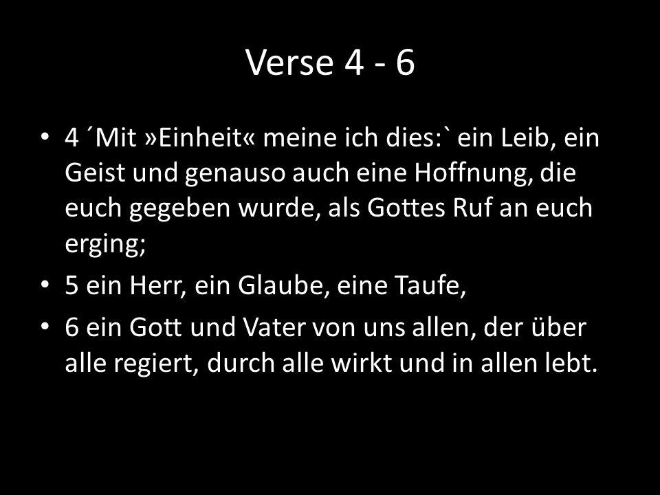 Verse 4 - 6