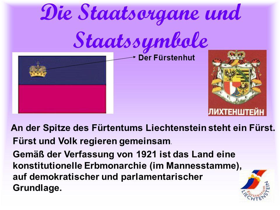 Die Staatsorgane und Staatssymbole