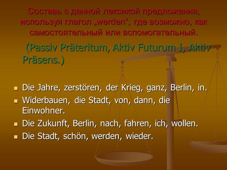 Die Jahre, zerstören, der Krieg, ganz, Berlin, in.