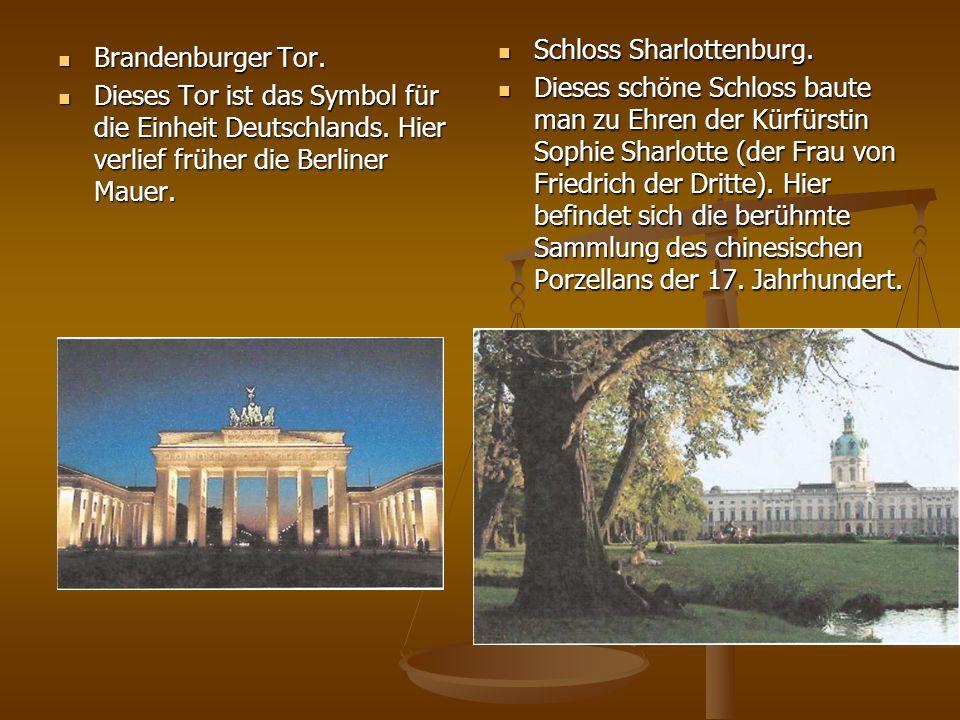 Schloss Sharlottenburg.