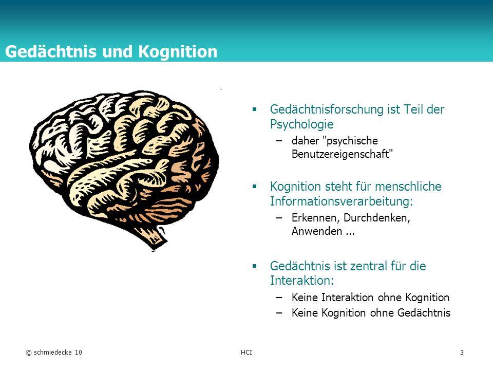 Gedächtnis und Kognition