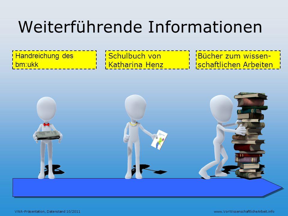 Weiterführende Informationen