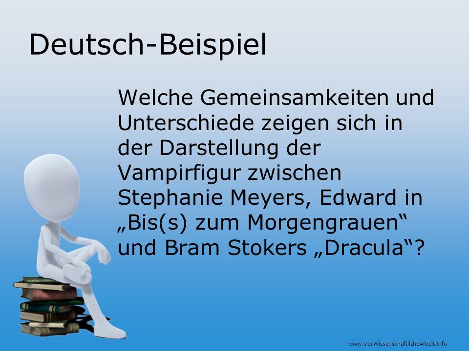 Deutsch-Beispiel