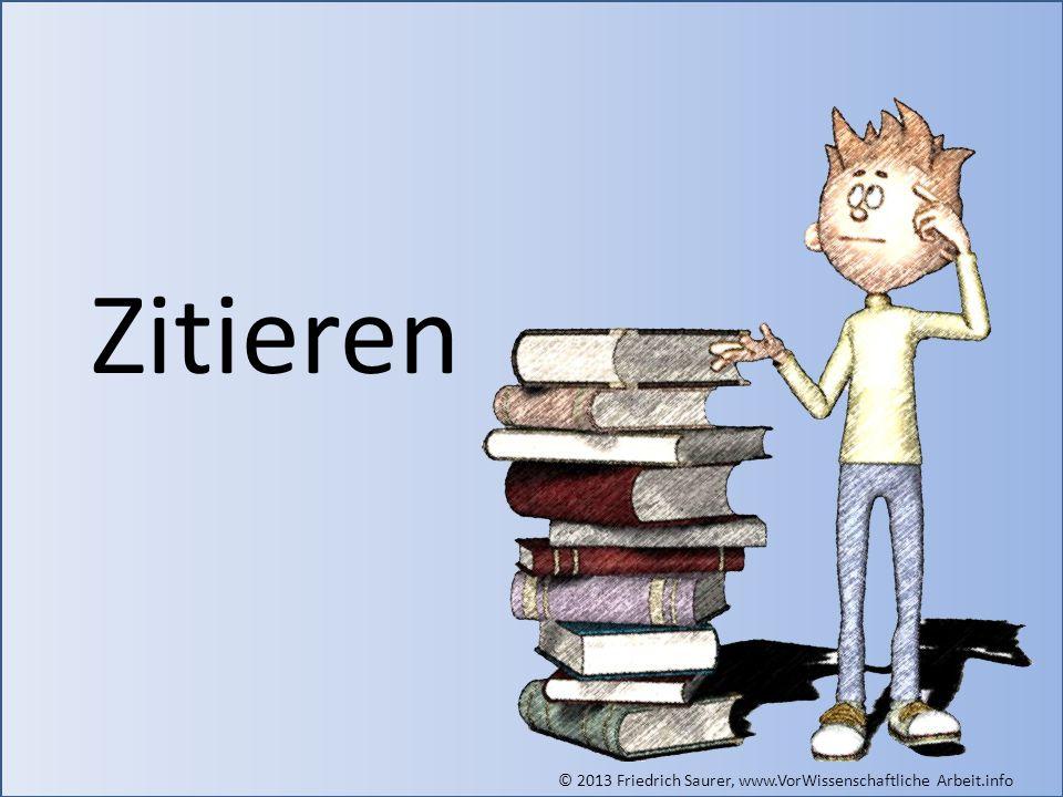 Zitieren Grafik: © Friedrich Saurer, www.saurer.biz