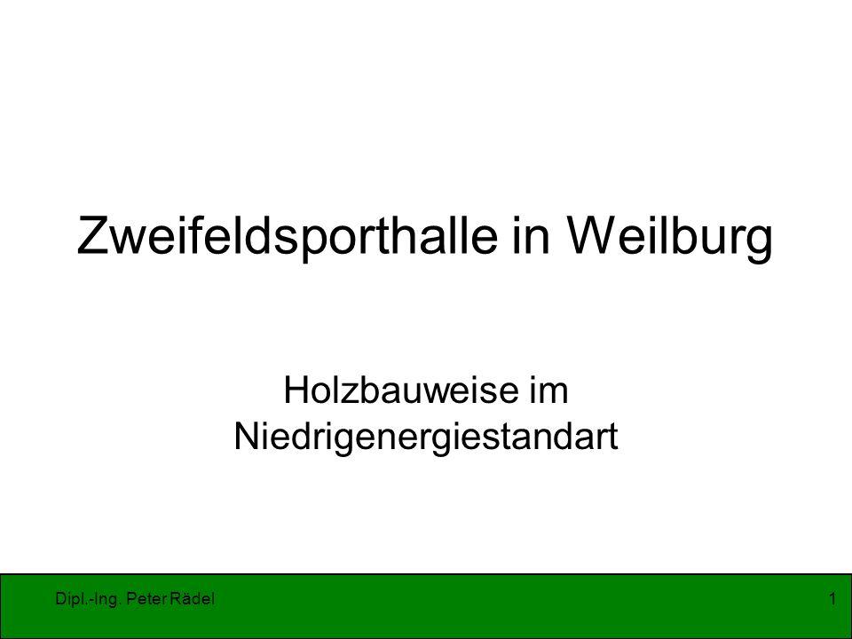 Zweifeldsporthalle in Weilburg