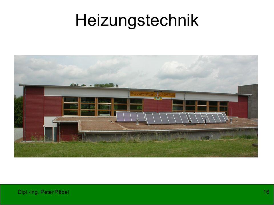 Heizungstechnik Dipl.-Ing. Peter Rädel
