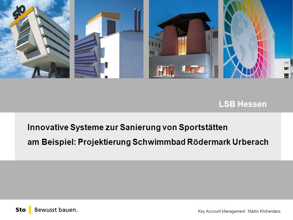 LSB Hessen Innovative Systeme zur Sanierung von Sportstätten.