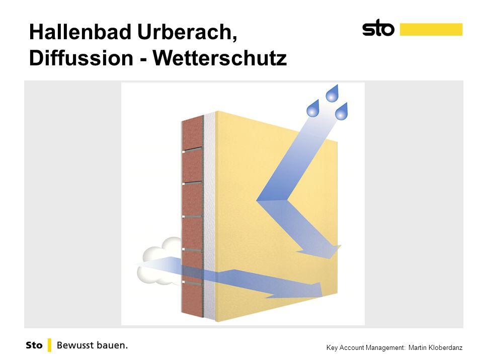 Hallenbad Urberach, Diffussion - Wetterschutz