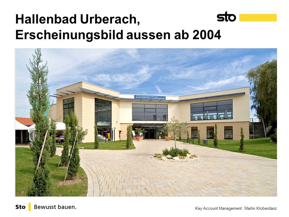 Hallenbad Urberach, Erscheinungsbild aussen ab 2004