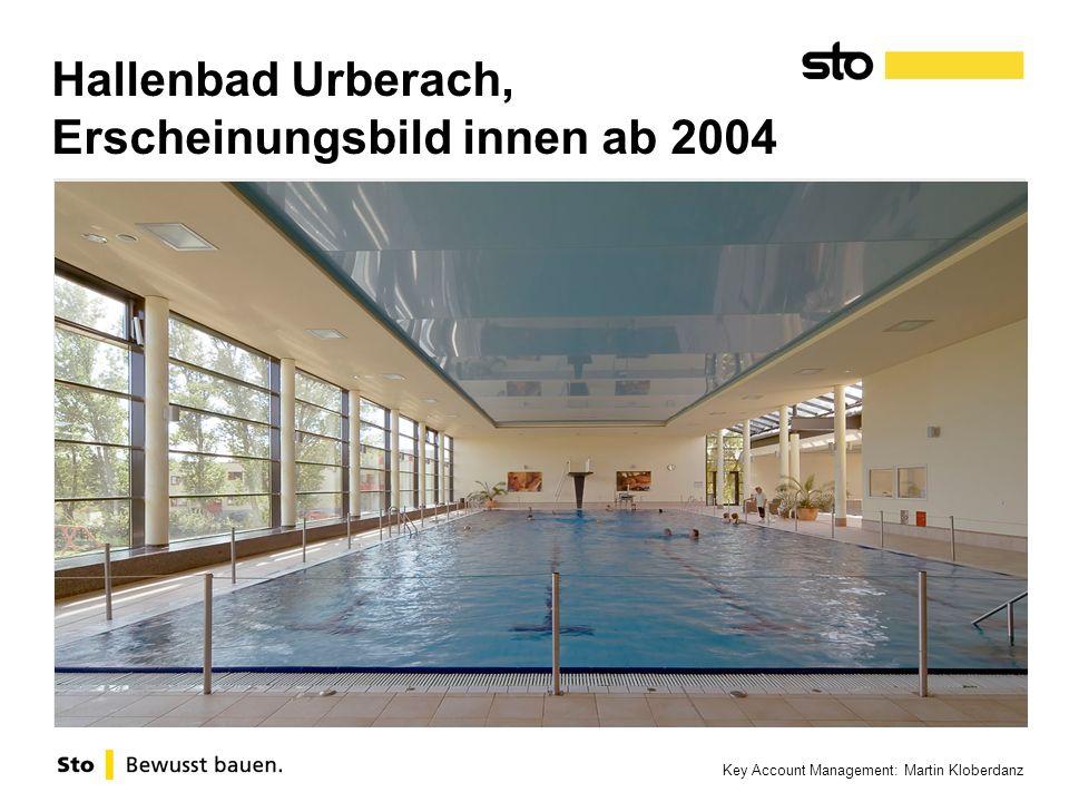 Hallenbad Urberach, Erscheinungsbild innen ab 2004