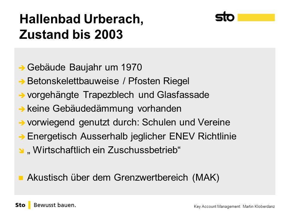 Hallenbad Urberach, Zustand bis 2003