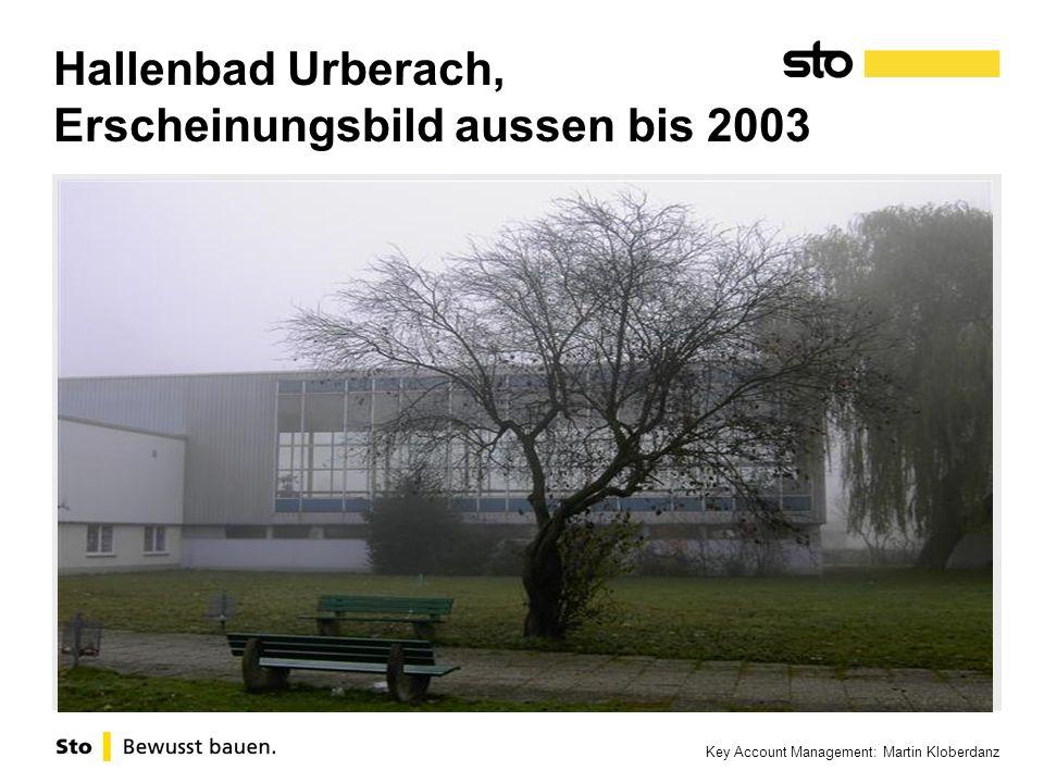 Hallenbad Urberach, Erscheinungsbild aussen bis 2003