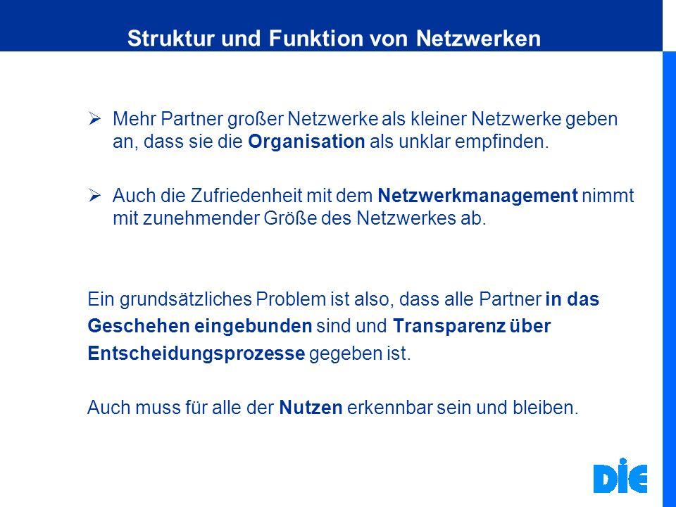 Struktur und Funktion von Netzwerken