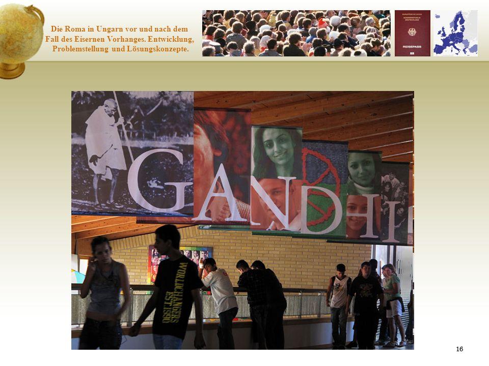 Die Roma in Ungarn vor und nach dem