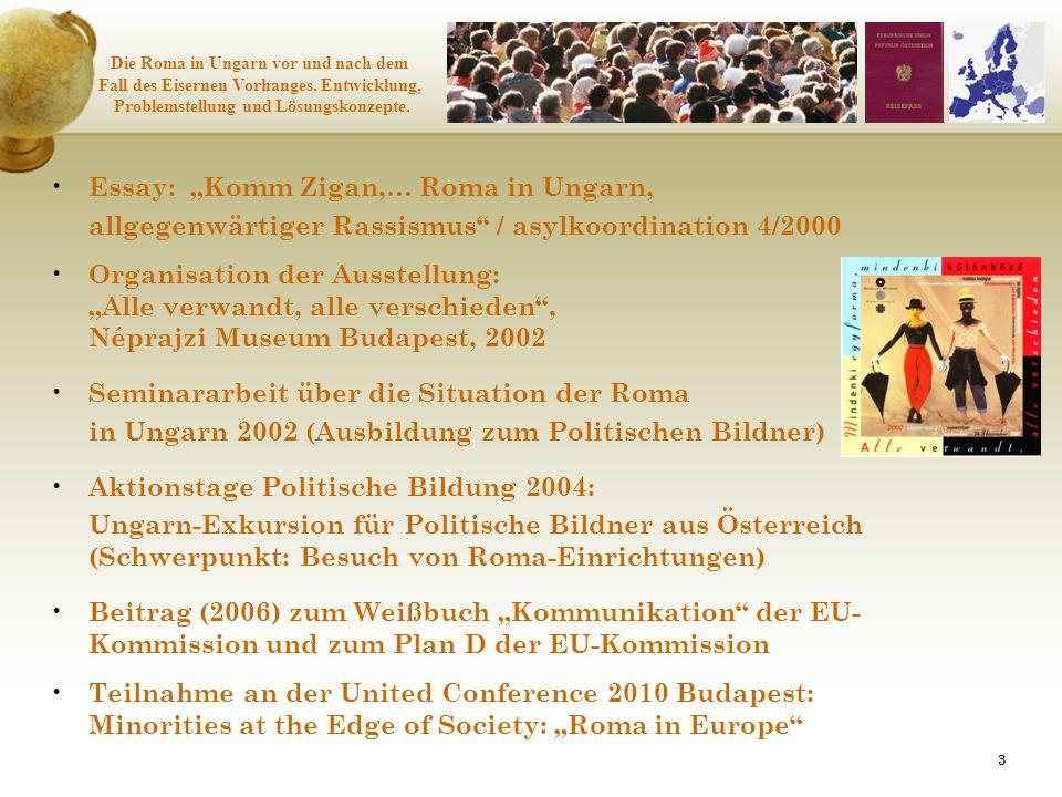 "Essay: ""Komm Zigan,… Roma in Ungarn,"