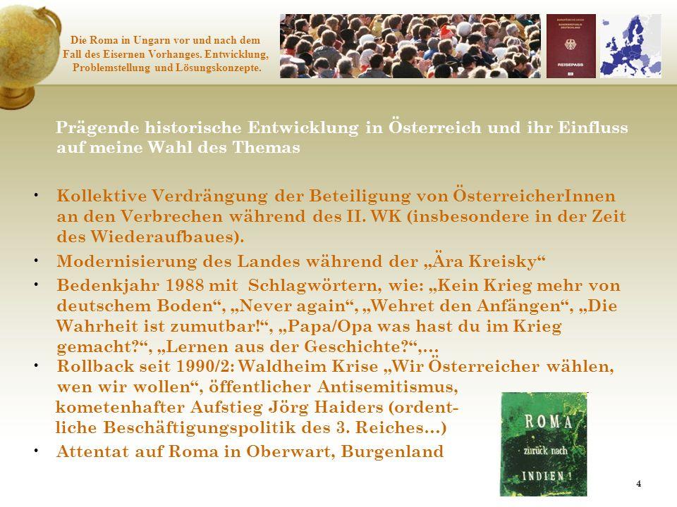 """Modernisierung des Landes während der """"Ära Kreisky"""