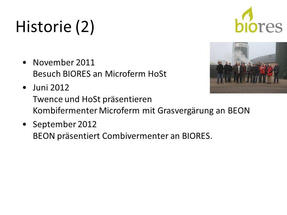 Historie (2) November 2011 Besuch BIORES an Microferm HoSt