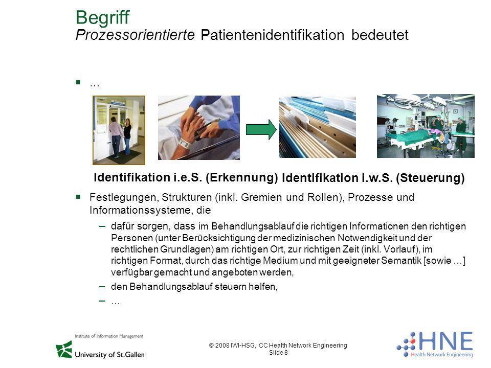 Begriff Prozessorientierte Patientenidentifikation bedeutet