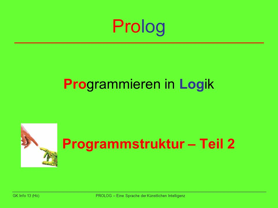 2. Programmstruktur – Teil 2