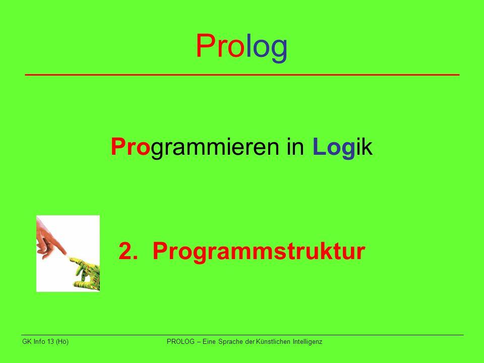 Programmieren in Logik