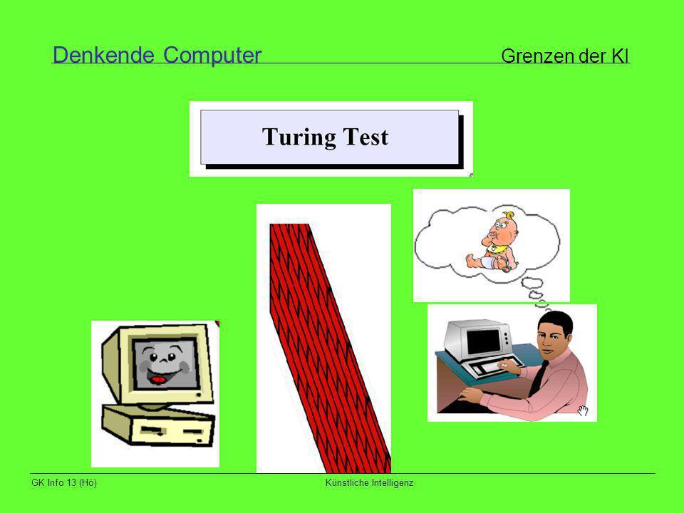 Denkende Computer Grenzen der KI