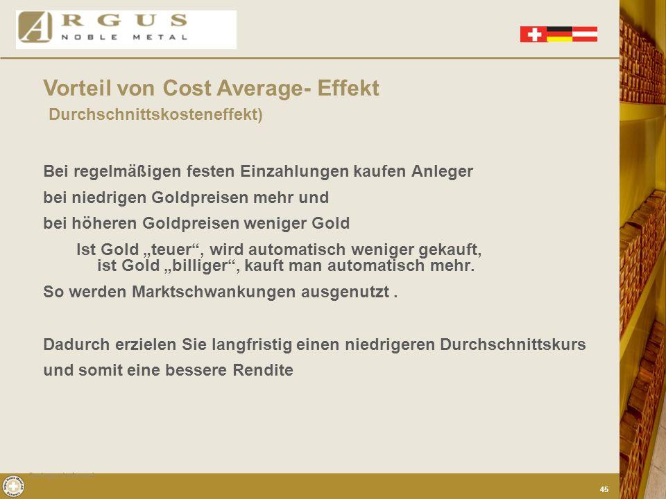 Durchschnittskosteneffekt)