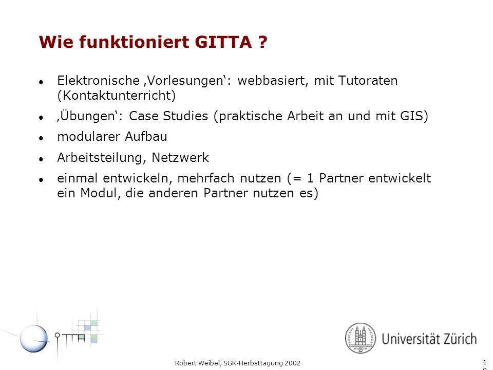 Wie funktioniert GITTA