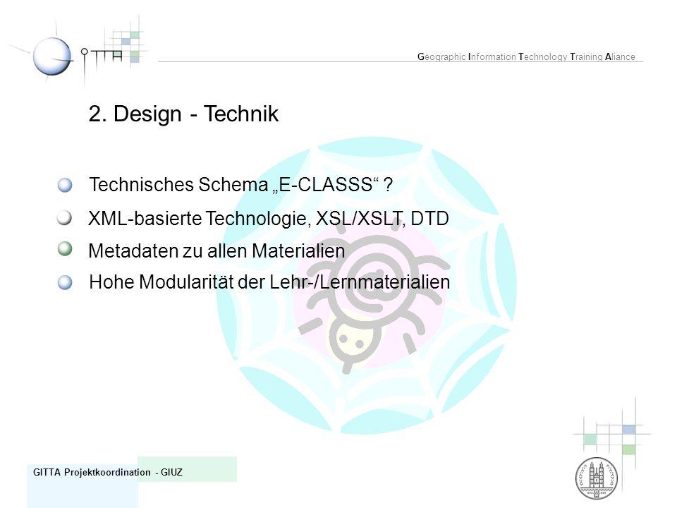 "2. Design - Technik Technisches Schema ""E-CLASSS"