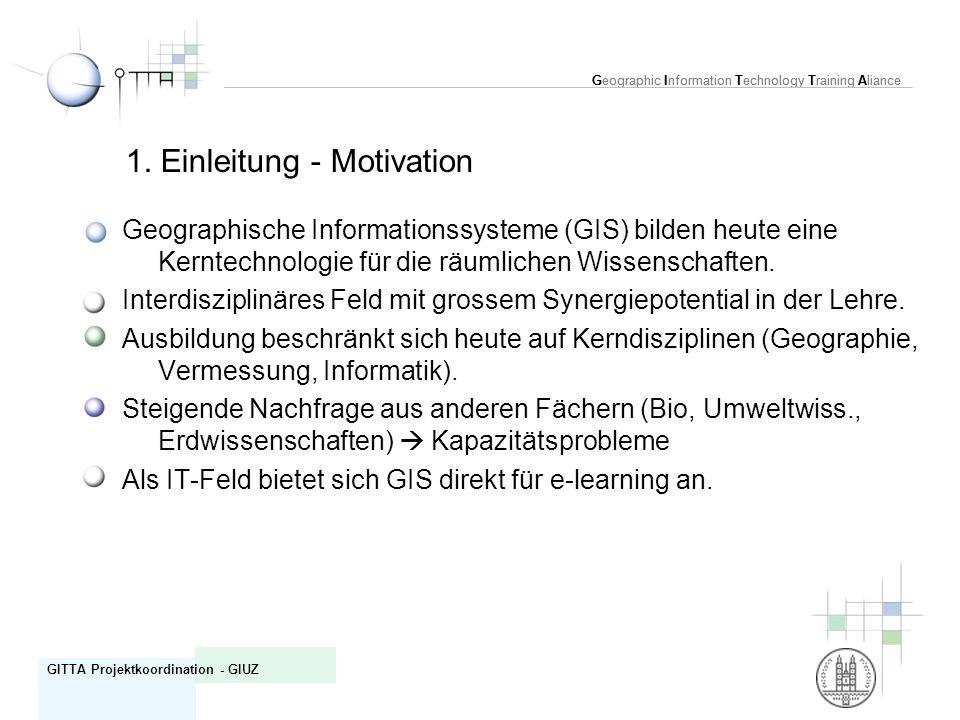 1. Einleitung - Motivation