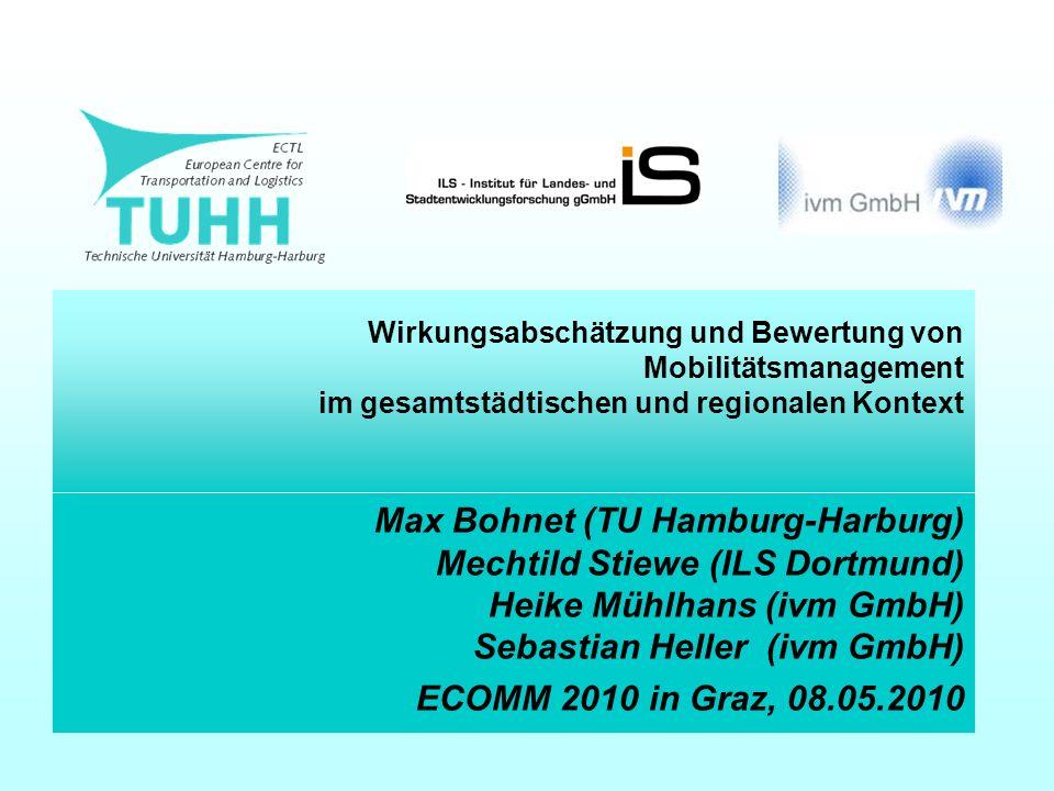 Wirkungsabschätzung und Bewertung von Mobilitätsmanagement im gesamtstädtischen und regionalen Kontext