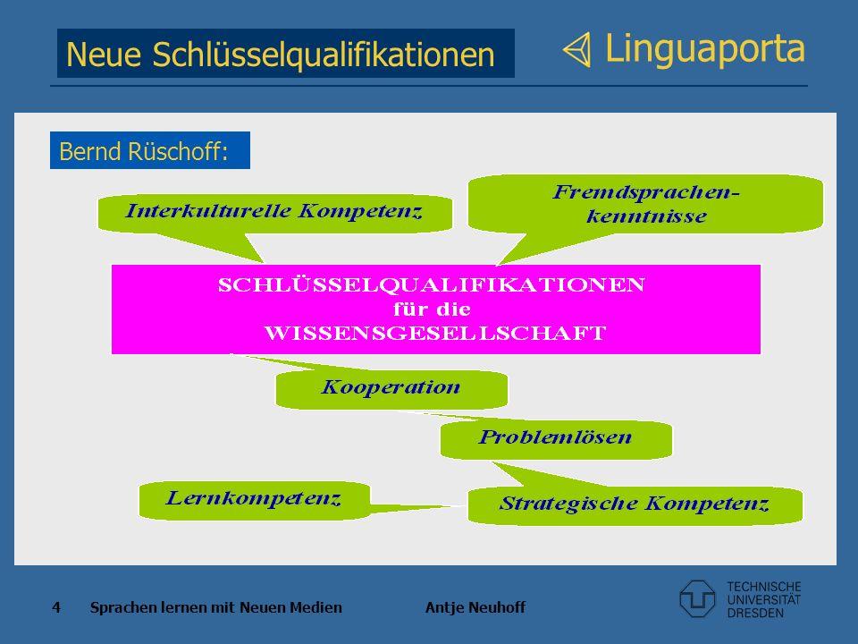 Linguaporta Neue Schlüsselqualifikationen Bernd Rüschoff: