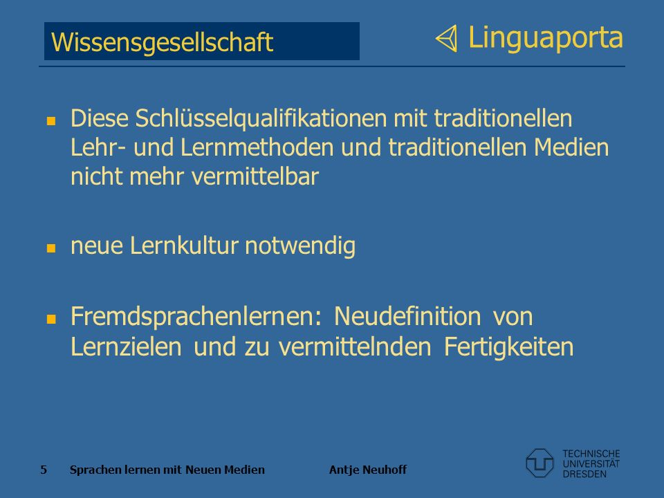 Linguaporta Wissensgesellschaft