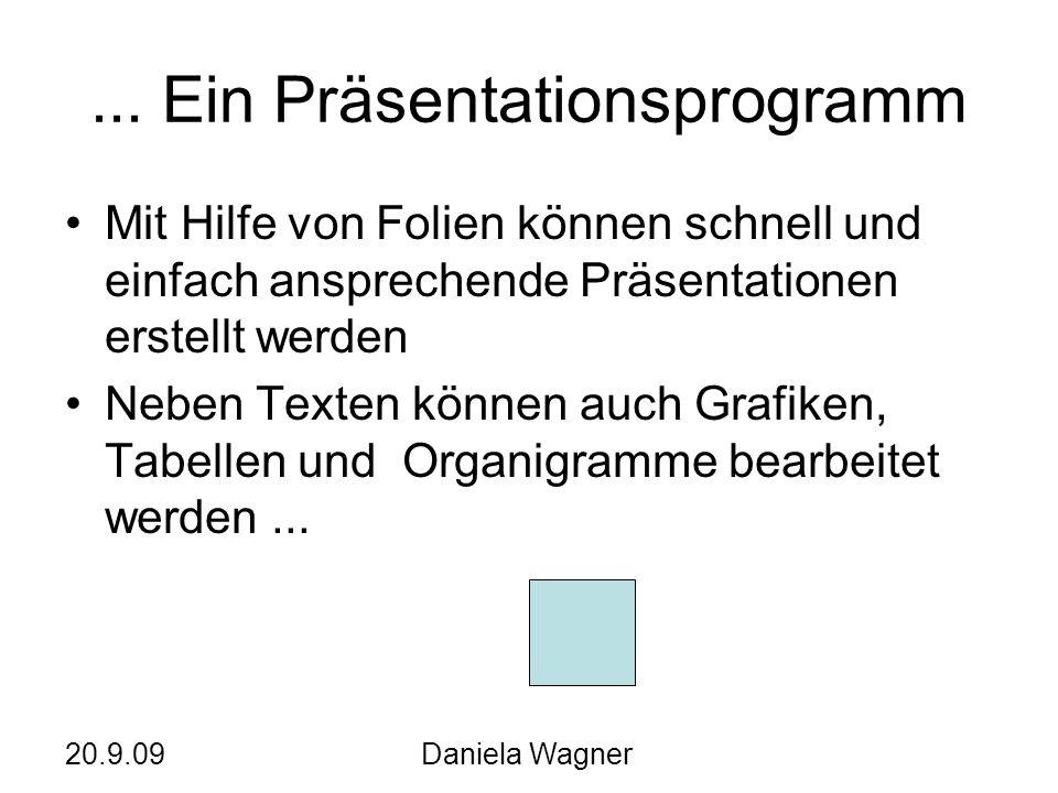 ... Ein Präsentationsprogramm