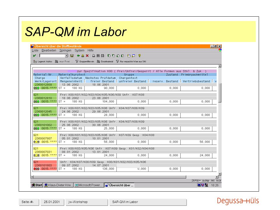 SAP-QM im Labor