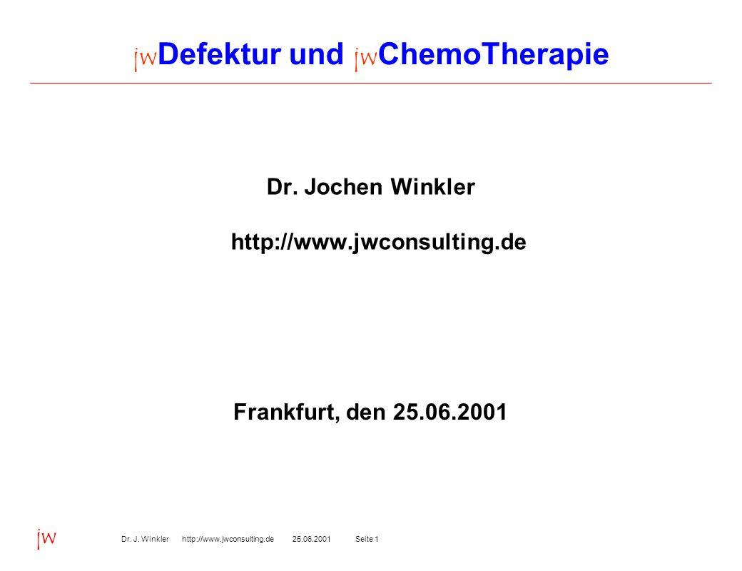 jwDefektur und jwChemoTherapie
