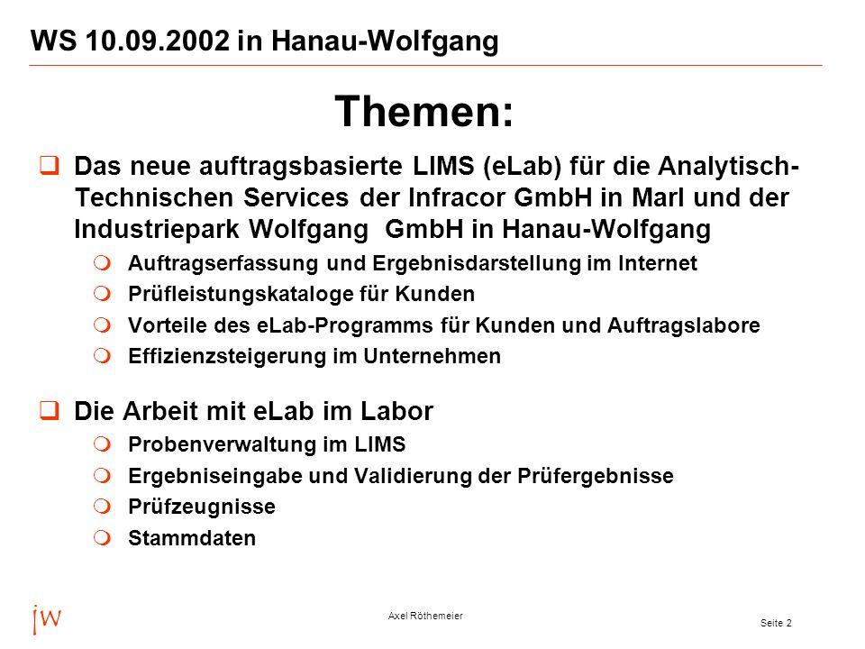 Themen: jw WS 10.09.2002 in Hanau-Wolfgang