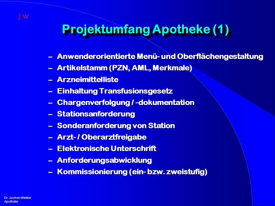 Projektumfang Apotheke (1)