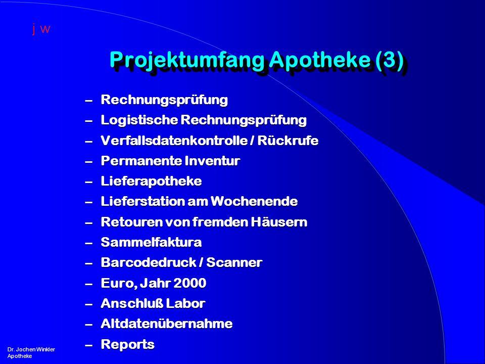 Projektumfang Apotheke (3)