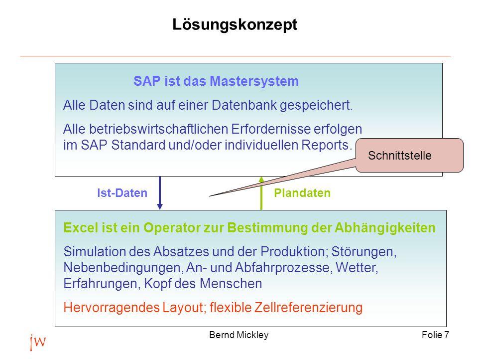 SAP ist das Mastersystem