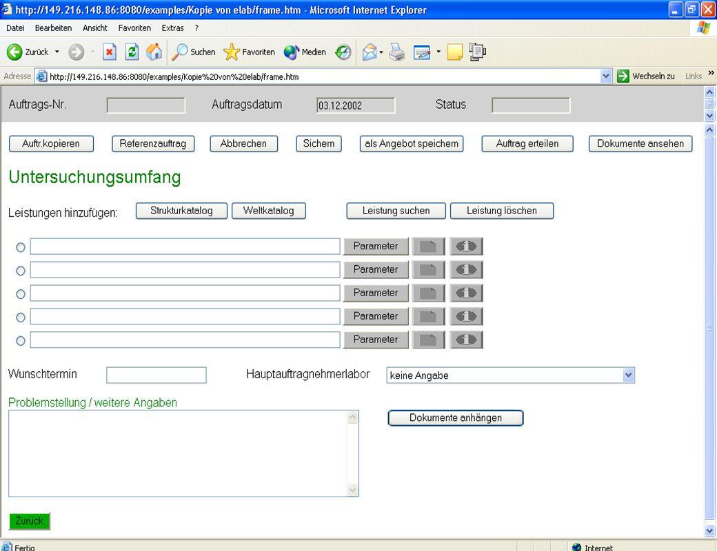 Erfahrungen im eLab-Projekt – Anzeige im Web