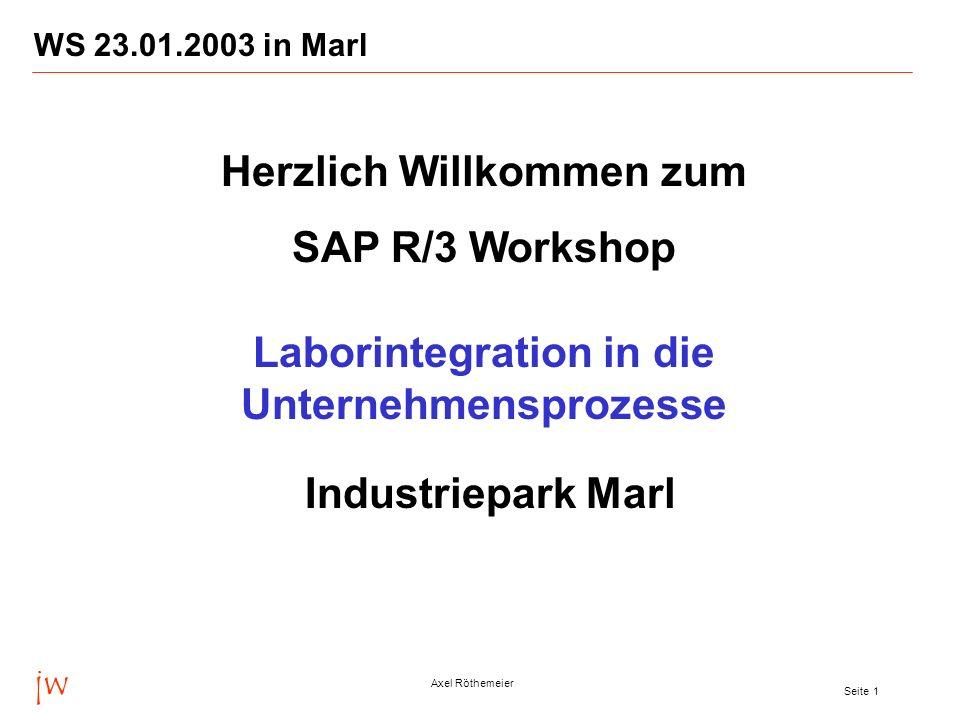 Herzlich Willkommen zum Laborintegration in die Unternehmensprozesse