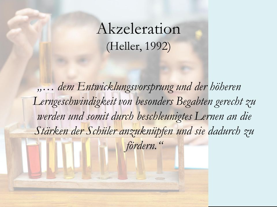 Akzeleration (Heller, 1992)