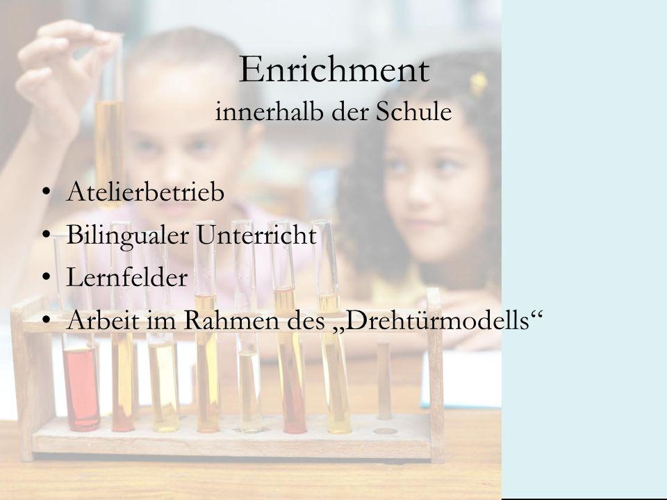 Enrichment innerhalb der Schule