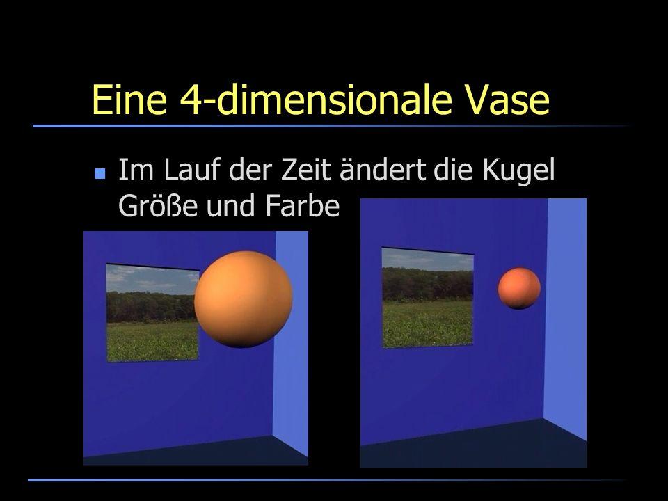 Eine 4-dimensionale Vase