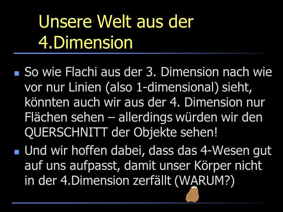 Unsere Welt aus der 4.Dimension