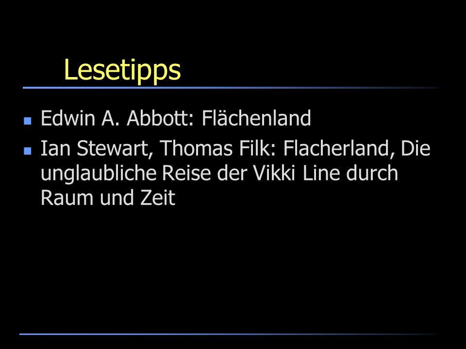 Lesetipps Edwin A. Abbott: Flächenland